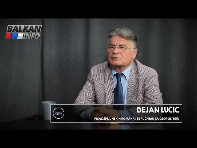 INTERVJU: Dejan Lučić - Želim da pomognem da Srbija opet bude moćna i jaka država! (22.04.2016)