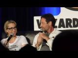 X-files @ Wizard World Chicago Comic Con 2016 (David Duchovny, Gillian Anderson)