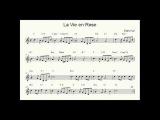 La vie en rose in Bossa Style - Backing trackplay along