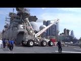 Неделя флота в Нью-Йорке. Посещение универсального десантного корабля USS Bataan