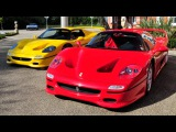 F50 Sound Comparison - factory v SECA Sports exhaust