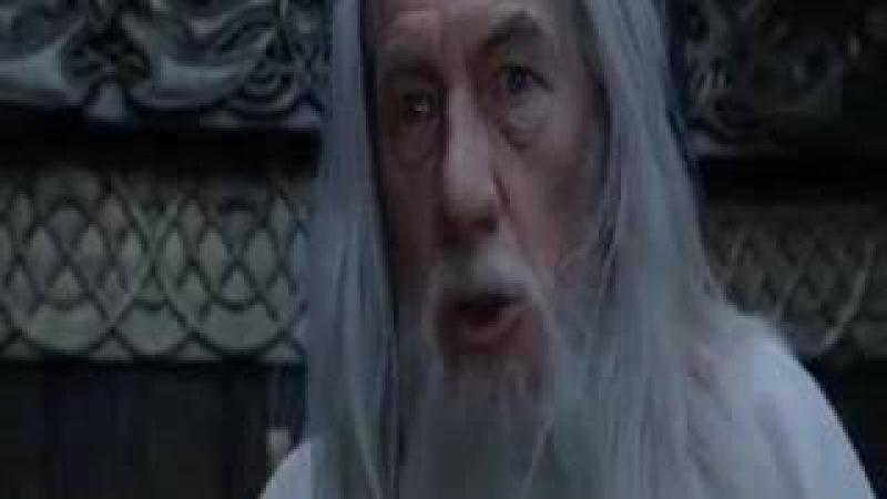 Дави на интернет! Отрывок из фильма Властелин колец Возвращение Бомжа Перевод о...