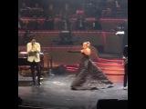 La vie en rose на концерте в Лас-Вегасе (30 декабря)