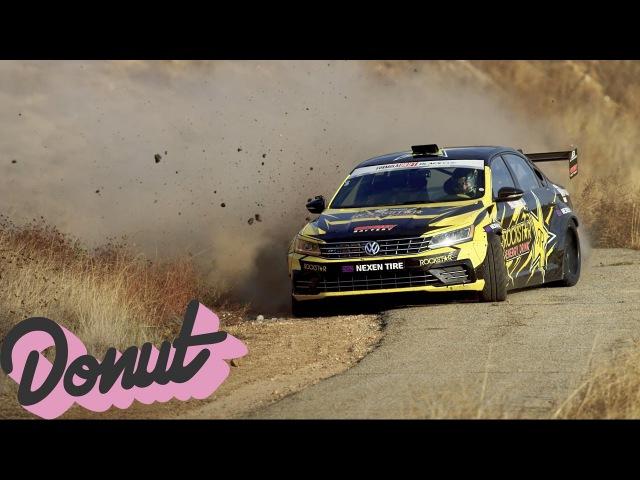 Dirt Drifting in a 1000HP VW Passat w/ Tanner Foust | Donut Media