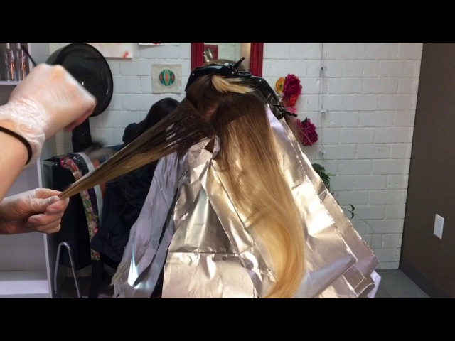 Color Correction - Fixing Spotty Blonde    Hair Tutorial