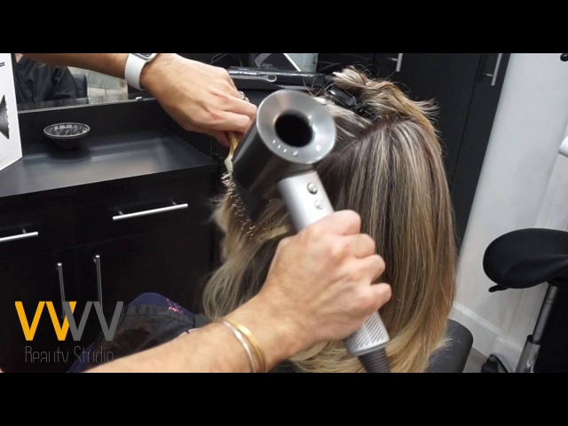 Dyson Supersonic Hair Dryer Pro in Action