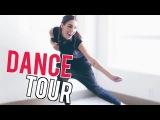 Ally Hills. Танцевальный тур по квартире