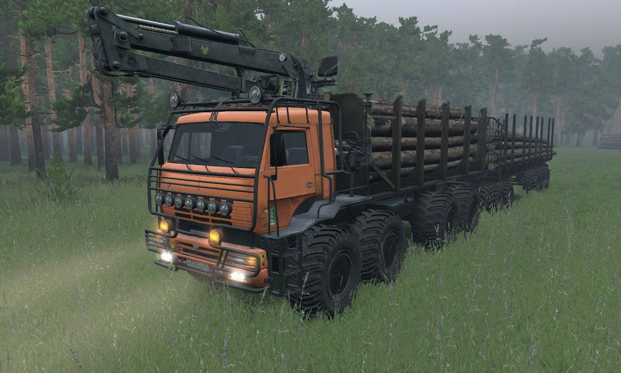 Камаз «Полярник RS» для 03.03.16 для Spintires - Скриншот 3