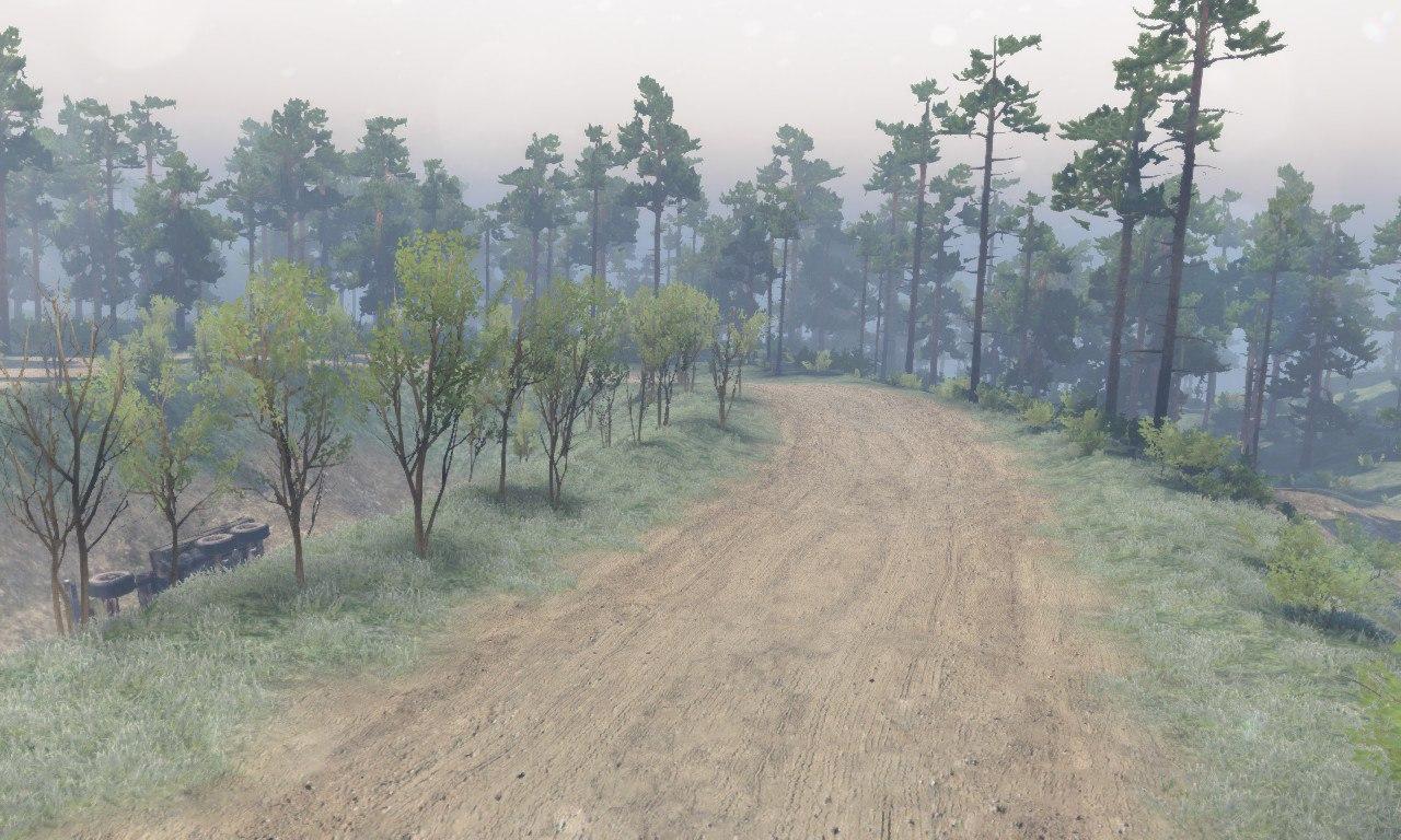 Карта «Село Комары» для 03.03.16 для Spintires - Скриншот 2