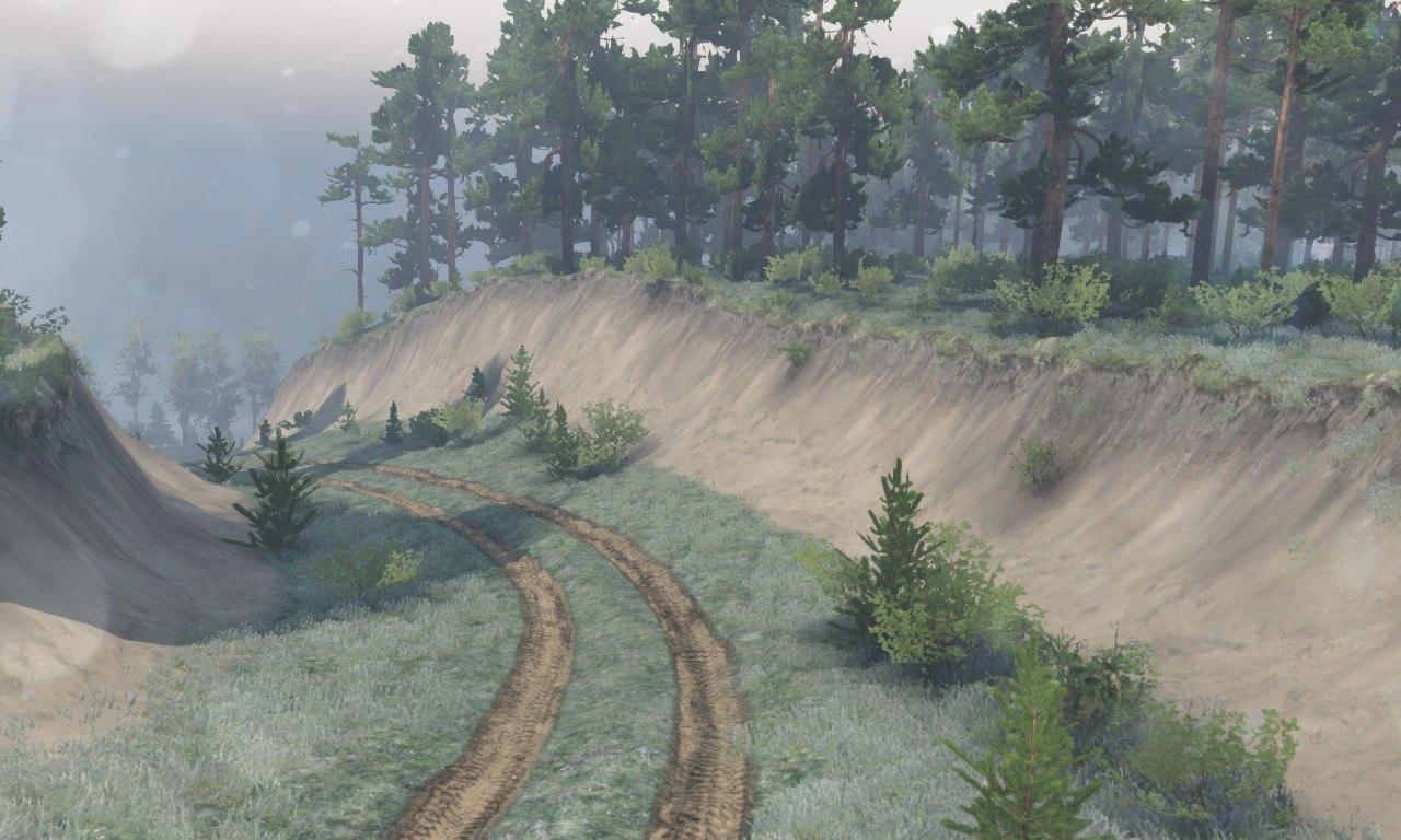 Карта «Село Комары» для 03.03.16 для Spintires - Скриншот 3