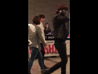 080117 Sunggyu and DongWoo in the height. fancam