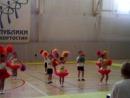 садик 284 юные черлидеры РАДУГА первое выступление на соревнованиях