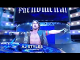 AJ Styles против Dean Ambrose - Highlights