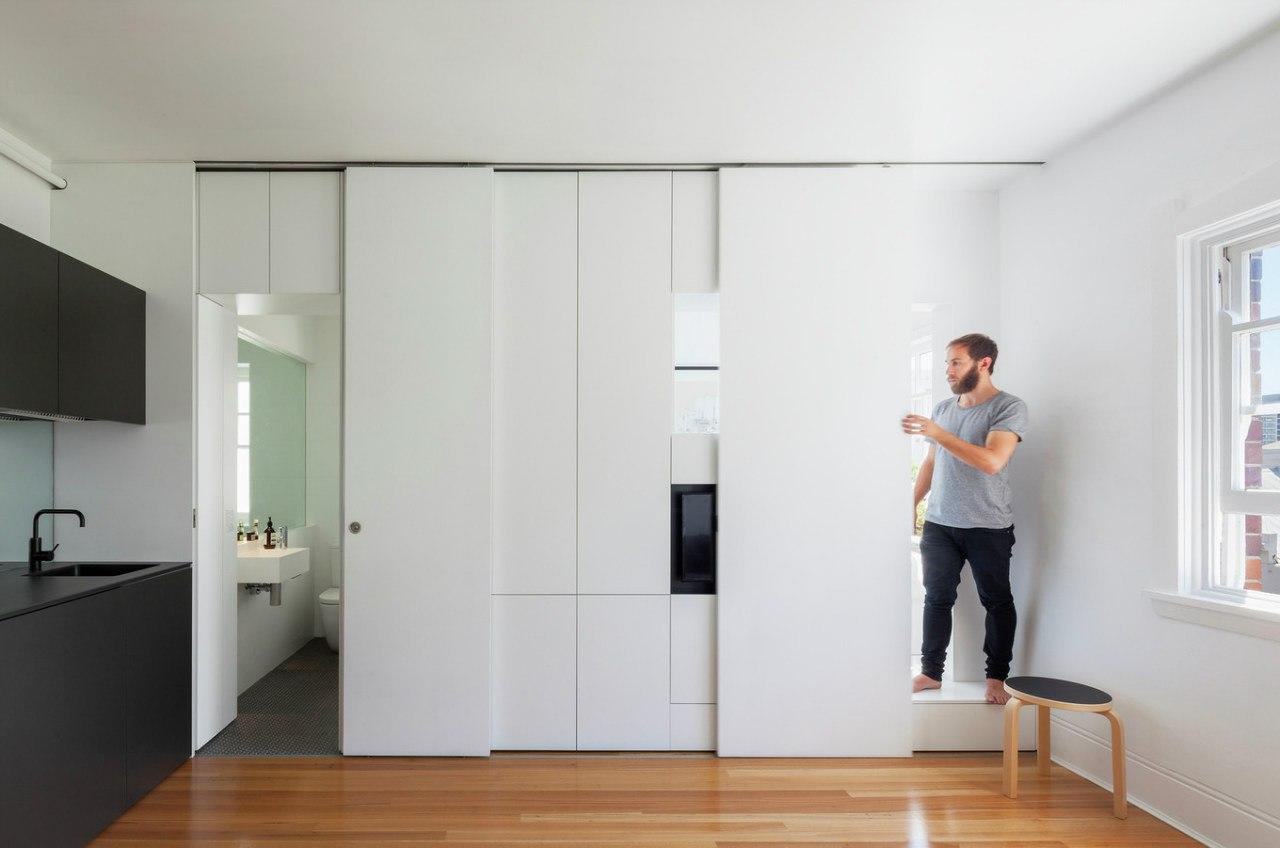 Квартира 27 м в Австралии.