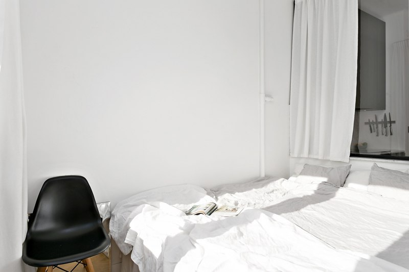 Интерьер квартиры-студии 39 м.
