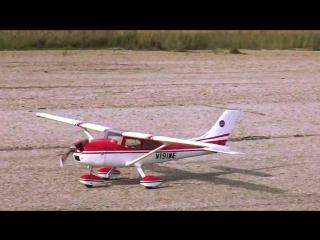 Радиоуправляемый бензиновый самолёт Cessna