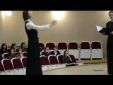 Камерный хор Московской консерватории.Курсовые хоры