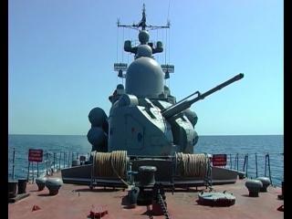 Итоговая проверка корабельных соединений, береговых войск и морской авиации ЧФ на полигонах боевой подготовки