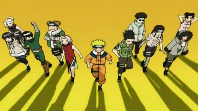Наруто TV-1 7 Опенинг | Naruto TV-1 7 Opening