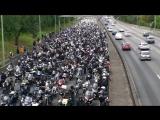 #Мотопротест в Париже в июне 2014 года - более 100 тысяч мотоциклов