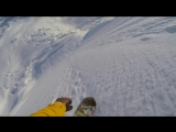 E Безбашенный сноубордист