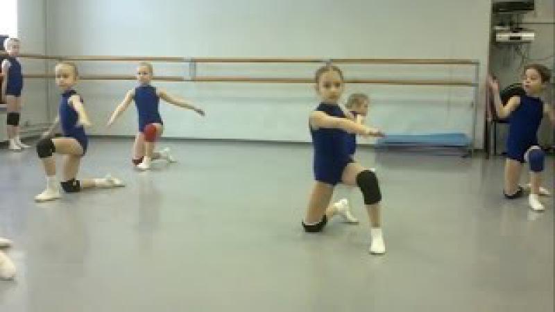 Ритмика для детей 6-7 лет. Силовой урок.