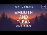 After Effects Tutorial Smooth and Clean Logo Reveal