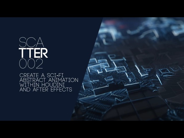 Sci Fi Abstract Animation - After Effects Houdini Tutorial