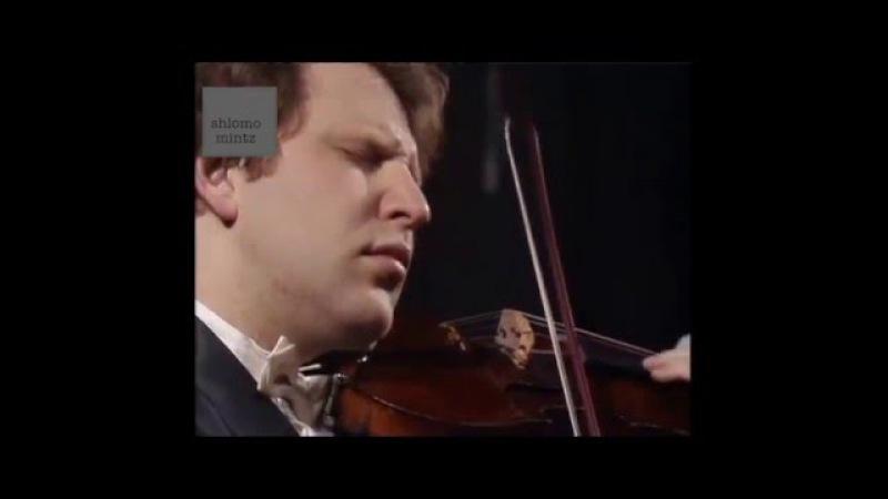 Shlomo Mintz Sibelius Violin concerto Shlomo Mintz soloist