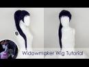 Widowmaker Wig Tutorial No Dewefting or Rewefting!