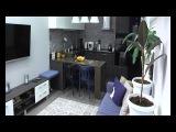 Ремонт и перепланировка квартиры в новостройке Тимур Амандыков, Эрика Руди