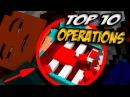 ТОП 10 ОПЕРАЦИЙ В МАЙНКРАФТ БЕЗ МОДОВ   СИМУЛЯТОР ХИРУРГА   SURGEON SIMULATOR (Прохождение Карты)