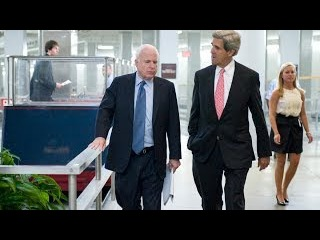 McCain and Kerry Have Tense Exchange at Foreign Relations Hearing