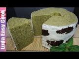 НОВЫЙ БАУМКУХЕН рецепт ПИРОГ ДЕРЕВО с японским чаем МАТЧА - German Layered Cake Baumkuchen recipe