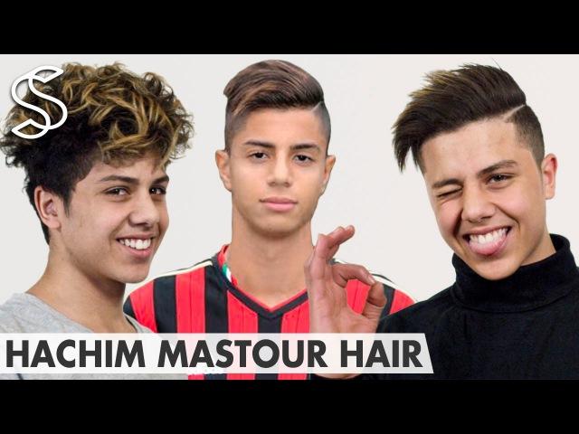 Hachim Mastour Hairstyle ★ Undercut with long top line-up ★ Men's hair
