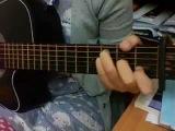Guitar cover - Zee Avi, Bitterheart (chords visible)