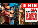 All Games Lionhead For 5 minutes