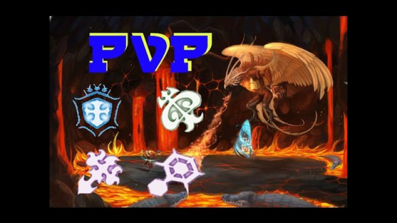 Dragon Nest - Pvp Tempest, Crusader, Ice Witch, Pyromancer