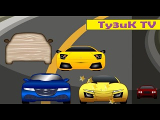 Cars Puzzles for Toddlers Пазлы для детей про машинки