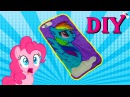 DIY iPhone case Rainbow Dash with 3d pen! BEST HANDMADE PRESENT EVER