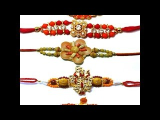 How to make rakhi for Raksha Bandana Rakhi making ideas at home rakhi design 75