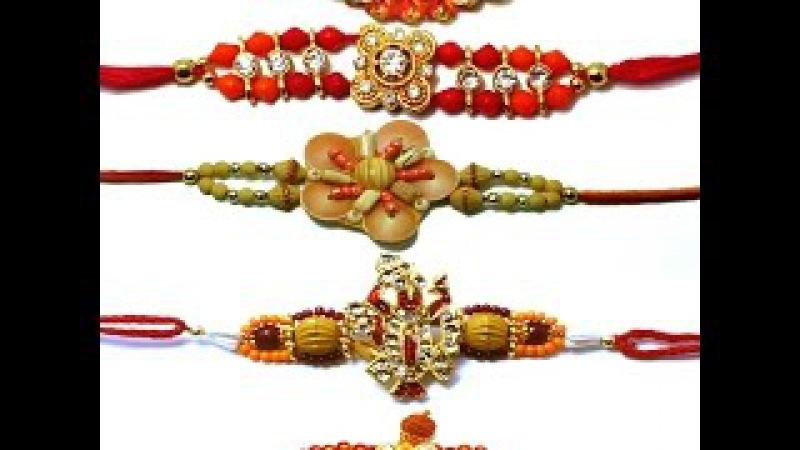 How to make rakhi for Raksha Bandana Rakhi making ideas at home rakhi design 75