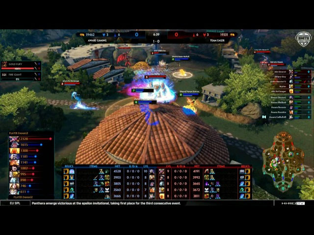 SMITE Console League Fall Split Week 5 Day 1 - Team Eager vs. Aware Gaming Game 2