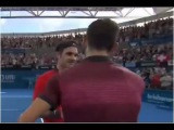 Grigor Dimitrov vs. Roger Federer 2-6, 2-6 Brisbane International (SF) 10.01.2015.