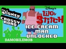 ★ DISNEY CROSSY ROAD Secret Characters ICE CREAM MAN Unlock Lilo and Stitch Update