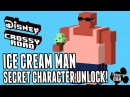 Disney Crossy Road Secret Character ICE CREAM MAN - Lilo And Stitch Update April 2017