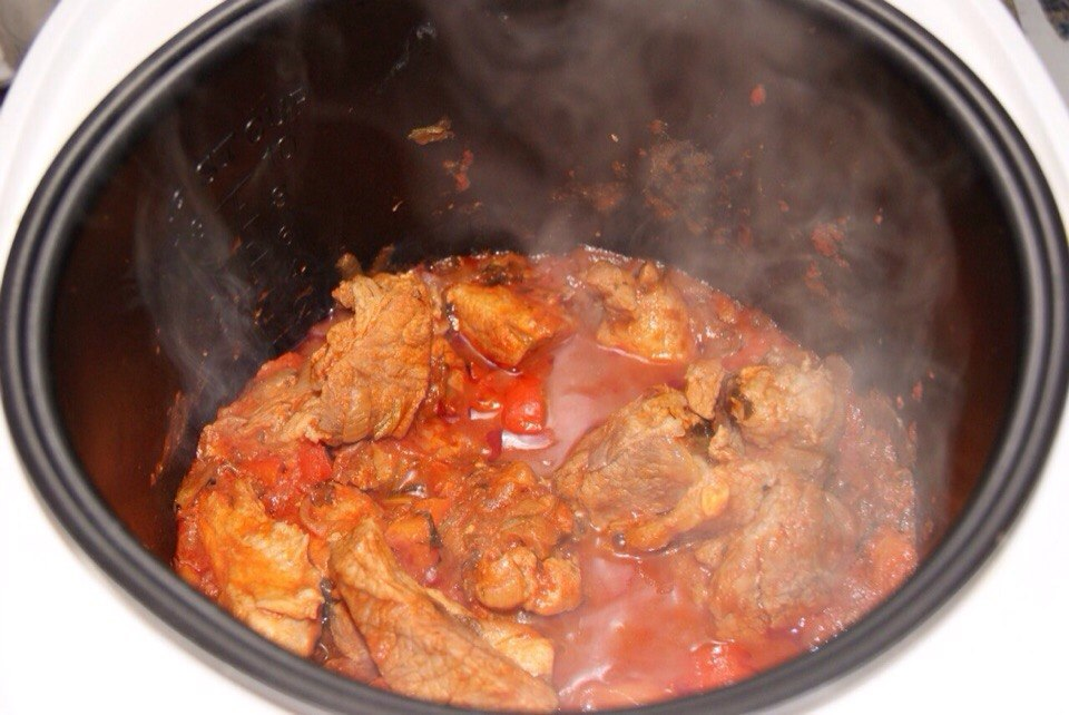 Блюда из свинины рецепты простые и вкусные в мультиварке