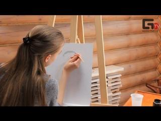Мастер класс по живописи от Марины Андрияновой