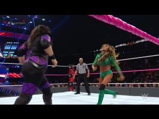720pHD WWE Superstars 2016.10.21 Nia Jax vs Alicia Fox