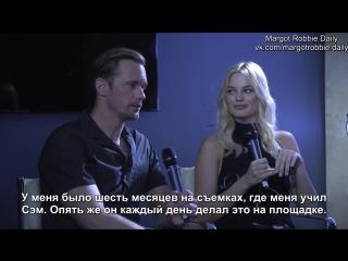 Интервью для «Magic Radio» в рамках промоушена фильма «Тарзан. Легенда» | 04.07.16 (русские субтитры)